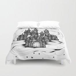 Super Magic Dream Castle Duvet Cover