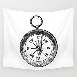Compass 2 Wall Tapestry