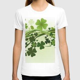 Tréboles de la suerte T-shirt