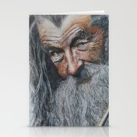 gandalf Stationery Cards featuring gandalf  by Frageroux