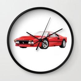 Ferrari 288 GTO Wall Clock