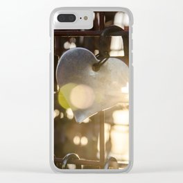 Unchain my Heart Clear iPhone Case