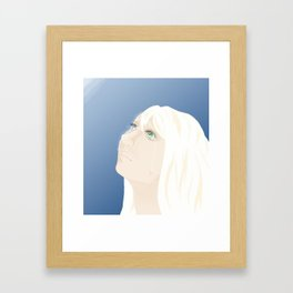 Leave Framed Art Print