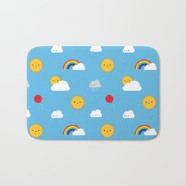 Kawaii Skies Bath Mat