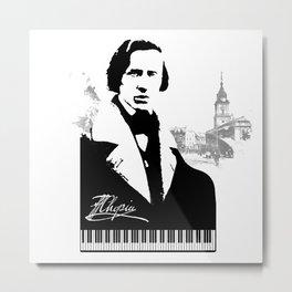 Frederic Chopin Metal Print