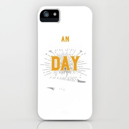 Embalmer Funeral Mortician Gift An Embalmers Day Is Just Plain Draining Funny Funeral Service iPhone Case