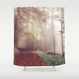 LOST IN THE PATH Shower Curtain