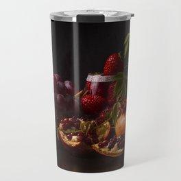 Still Life - Red Fruits II Travel Mug