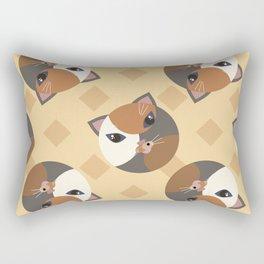 Lady cat Rectangular Pillow