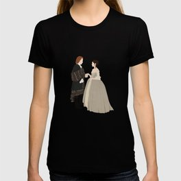 Outlander, Jamie and Claire T-shirt