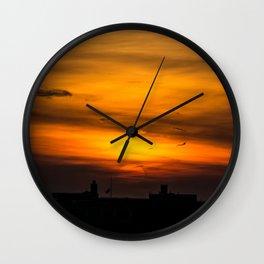 Brooklyn Sunset Wall Clock