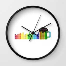 Feel The Beat Wall Clock