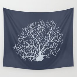 Faded Coral Wall Tapestry