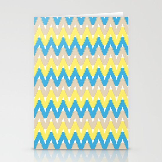 Summer Pattern 4 (Beach) Stationery Cards
