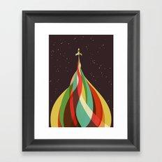Kaleidoscope to the Stars Framed Art Print