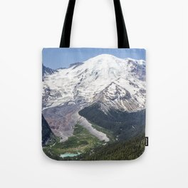 Mount Rainier on the Sunrise Side Tote Bag