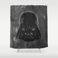 darth vader Shower Curtains featuring Darth Vader by Some_Designs