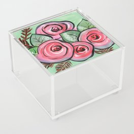 Roses for my Valentine Acrylic Box