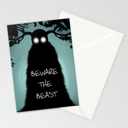 Beware The Beast Stationery Cards