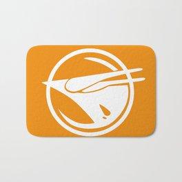 Rebel Phoenix orange Bath Mat
