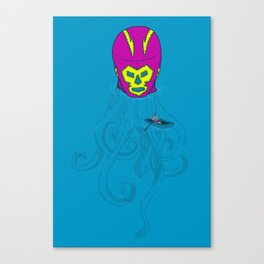 Trolling for a fight Canvas Print