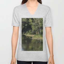 Quiet River Unisex V-Neck