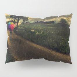 A Stormy Night Pillow Sham