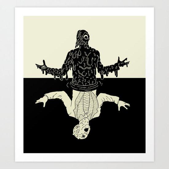 Meltdown Art Print
