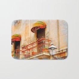 Trapani art 14 Sicily Bath Mat