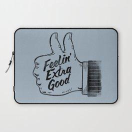 Feelin' Extra Good Laptop Sleeve