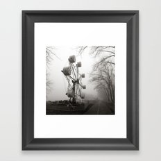 Amusements on the Road of Life Framed Art Print