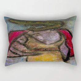 ManEater Rectangular Pillow