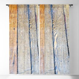 Floorboards Blackout Curtain