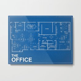 Office Tv Show Metal Print