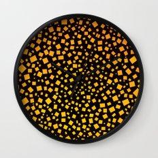 Big Bang Squares Wall Clock