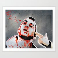 taxi driver Art Prints featuring Taxi Driver by Mike