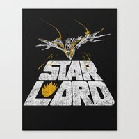 star lord Canvas Prints featuring Star-Lord by MeleeNinja
