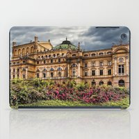 theatre iPad Cases featuring Slowacki Theatre in Cracow by jbjart