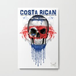 To The Core Collection: Costa Rica Metal Print