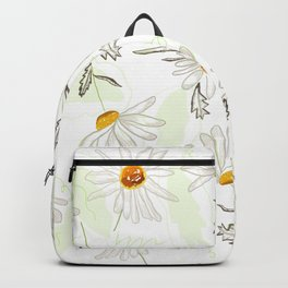 Spring time colorful daisies pattern Backpack