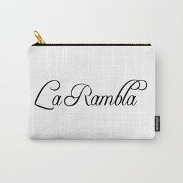La Rambla Carry-All Pouch