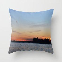 Michigan Beauty Throw Pillow