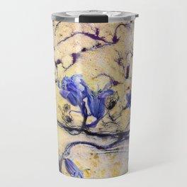 Bluebells Breaking Through Travel Mug