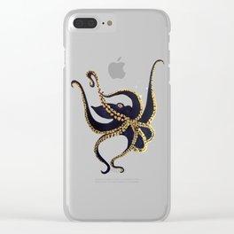La pieuvre Clear iPhone Case