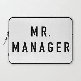 Mr. Manager Laptop Sleeve