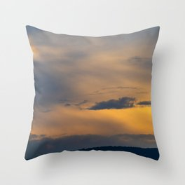Budapest and the Danube Throw Pillow