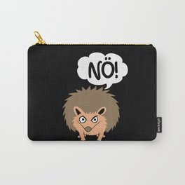 Quill Insulted Nö Bad Mood Hedgehog Carry-All Pouch