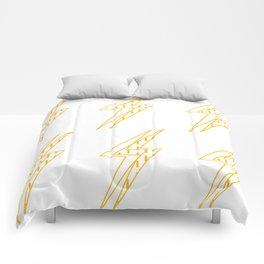BLINDED LIGHT Comforters