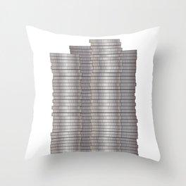 Pieces of Silver Throw Pillow