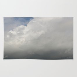 Clouds Over The Marsh Rug
